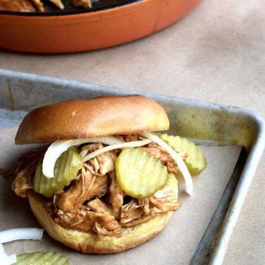 Skillet Pulled BBQ Chicken Recipe | SideChef