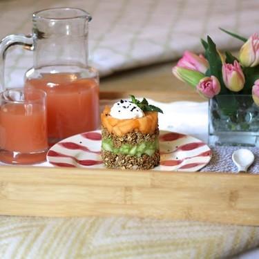 Stacked Granola and Melon Recipe | SideChef