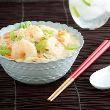 Coconut Shrimp Noodle Soup Recipe | SideChef