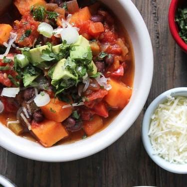 Sweet Potato and Black Bean Chili Recipe   SideChef