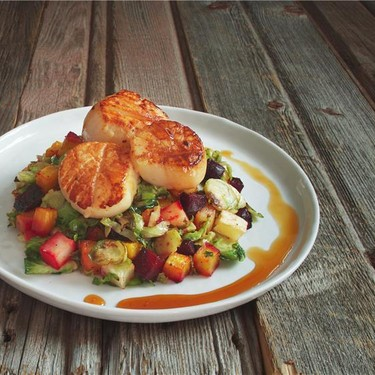 Scallops and Apple Gastrique Recipe   SideChef