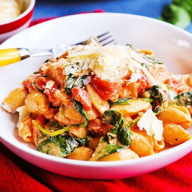 Creamy Tomato Pasta Skillet Recipe   SideChef