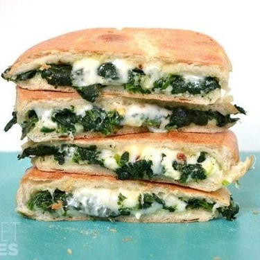 Spinach Feta Grilled Cheese Recipe   SideChef