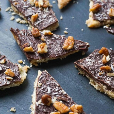 Chocolate Toffee Paradise Bars Recipe   SideChef
