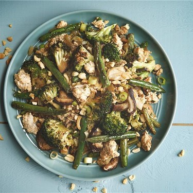 Chicken Stir-Fry with Green Beans and Broccoli Recipe   SideChef