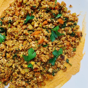 """Vegetable Fried """"Rice"""" with Masala Spices Recipe   SideChef"""