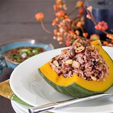 Fall Rice in Pumpkin Recipe   SideChef