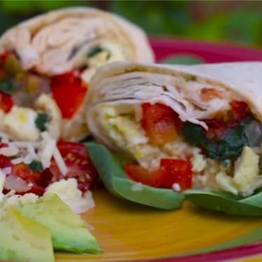 Veggie Breakfast Burrito Recipe | SideChef