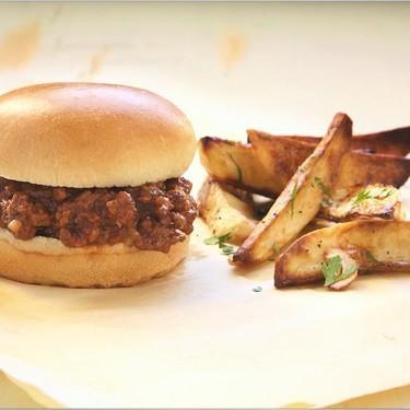 Sloppy Joe Sandwiches with Garlic Fries Recipe | SideChef
