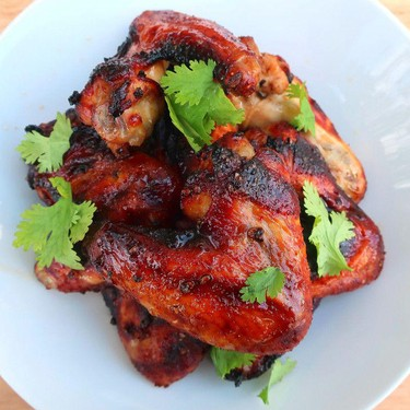 Black Pepper and Soy Chicken Wings Recipe | SideChef
