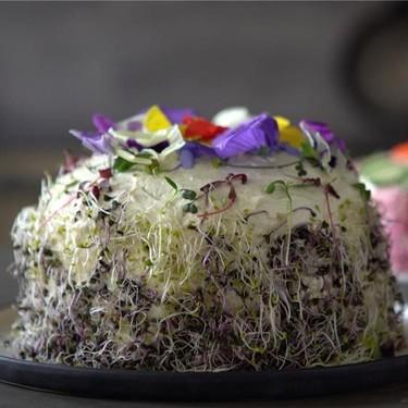 5-Layer Salmon Sandwich Cake Recipe | SideChef