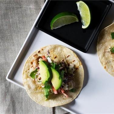 Fish Tacos with Sriracha Aioli Slaw Recipe   SideChef