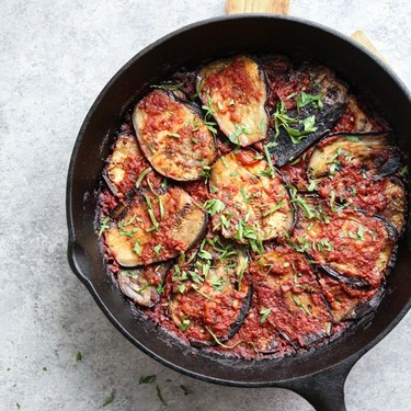 Turkish Eggplant Casserole with Tomatoes Recipe   SideChef