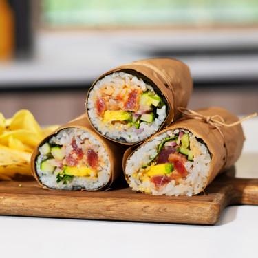 Spicy Tuna Sushi Burrito Recipe   SideChef
