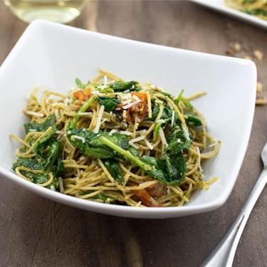 Walnut Pesto Pasta Recipe | SideChef