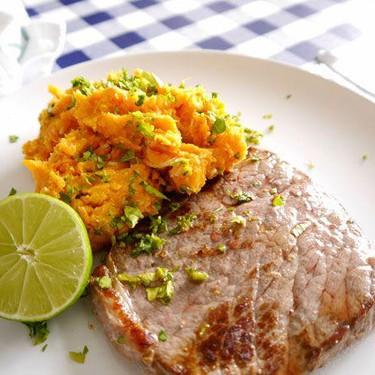 Zesty and Spicy Sweet Potato Mash Recipe | SideChef