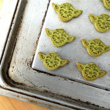 Yoda Matcha Sugar Cookies Recipe   SideChef