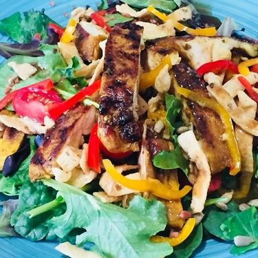 Grilled Asian Chicken Salad Recipe   SideChef