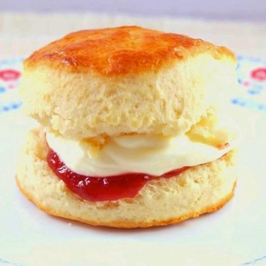 Simple Soft and Fluffy Buttermilk Scones Recipe   SideChef