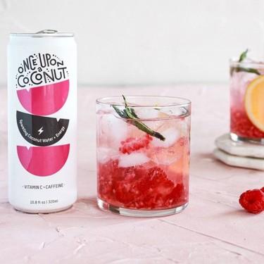 Sparkling Lemon Raspberry Mojito Recipe   SideChef