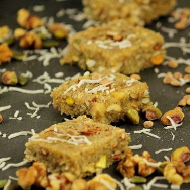 Fennel Mixed Nut Coconut Burfi (Indian Fudge) Recipe   SideChef