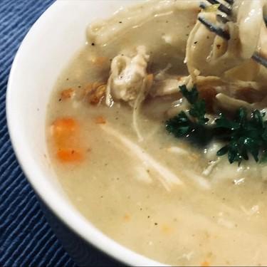 Southern Chicken and Flat Dumplings Recipe | SideChef