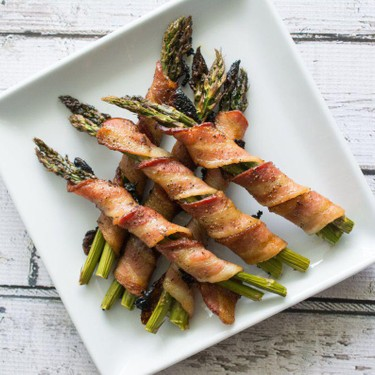 Bacon Wrapped Asparagus Recipe | SideChef