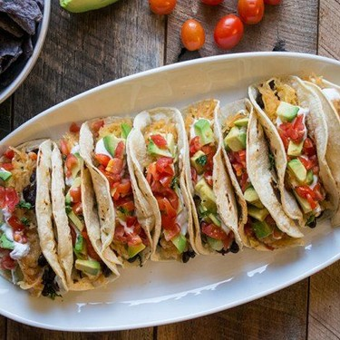Vegetarian Spaghetti Squash Tacos Recipe   SideChef