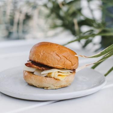 Breakfast Sandwich with Rosemary Maple Butter Recipe   SideChef