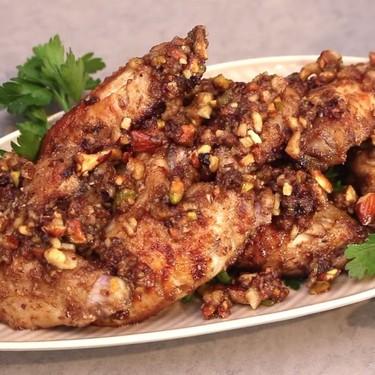 Baklava Chicken Wings Recipe | SideChef