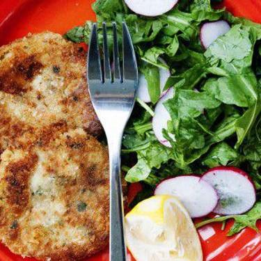 Salmon Fishcakes with Rocket Salad Recipe   SideChef