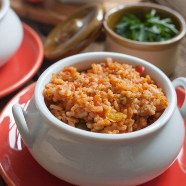Spanish Rice in an Instant Pot Recipe   SideChef