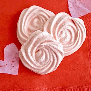 Strawberry Balsamic Meringue Roses Recipe   SideChef