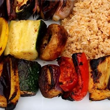 Vegan Kabobs Recipe   SideChef