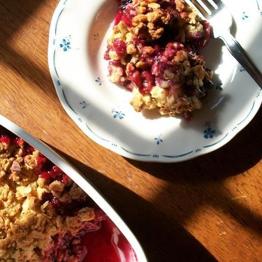 Berry Crisp Recipe   SideChef