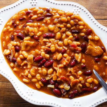 Slow Cooker Baked Beans Recipe   SideChef