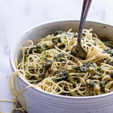 Quick Basil Pesto Pasta Recipe   SideChef