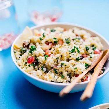 Bulgur Salad with Feta and Pomegranate Recipe | SideChef
