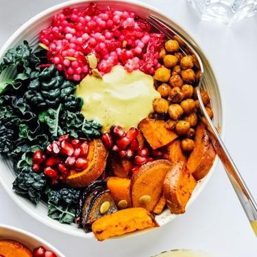 Roasted Veggie Buddha Bowls with Yum Sauce Recipe | SideChef