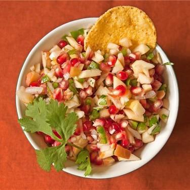 Apple and Pomegranate Salsa Recipe | SideChef