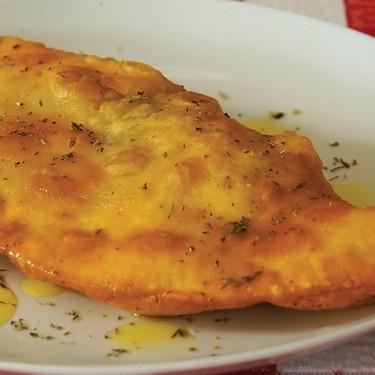 Fried Calzone with Ham and Mozzerella Recipe | SideChef