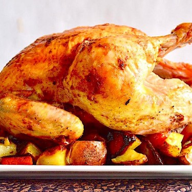 Curried Roasted Chicken and Vegetables Recipe | SideChef