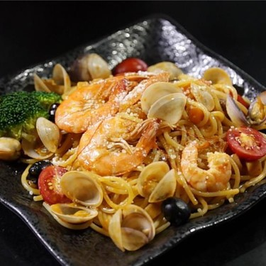 Seafood Spaghetti Recipe   SideChef