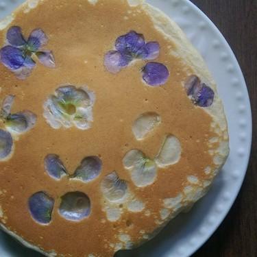 Violet Pancakes Recipe   SideChef