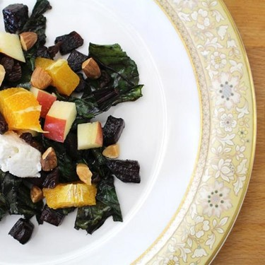 Warm Beet Salad with Fruit and Nuts Recipe | SideChef
