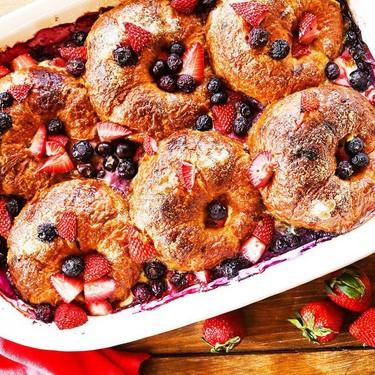 Mixed Berry Croissant Breakfast Bake Recipe | SideChef