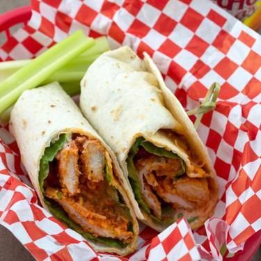 Baked Buffalo Chicken Wrap Recipe | SideChef
