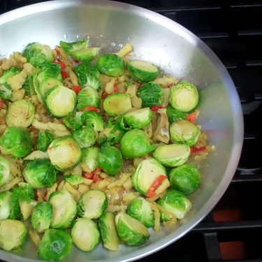 Caribbean Brussels Sprouts Recipe   SideChef