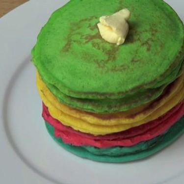 Rainbow Pancakes Recipe | SideChef