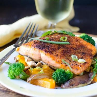 Spiced Pan-Seared Salmon Recipe | SideChef